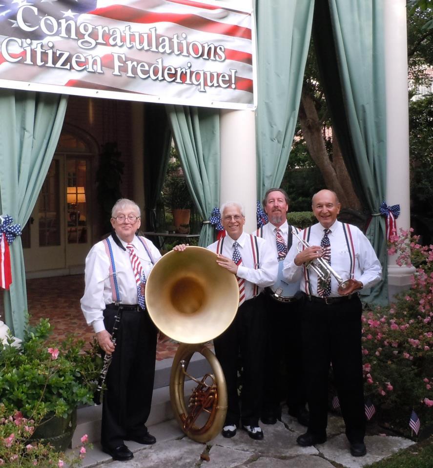 Patriotic Pizazz quartet